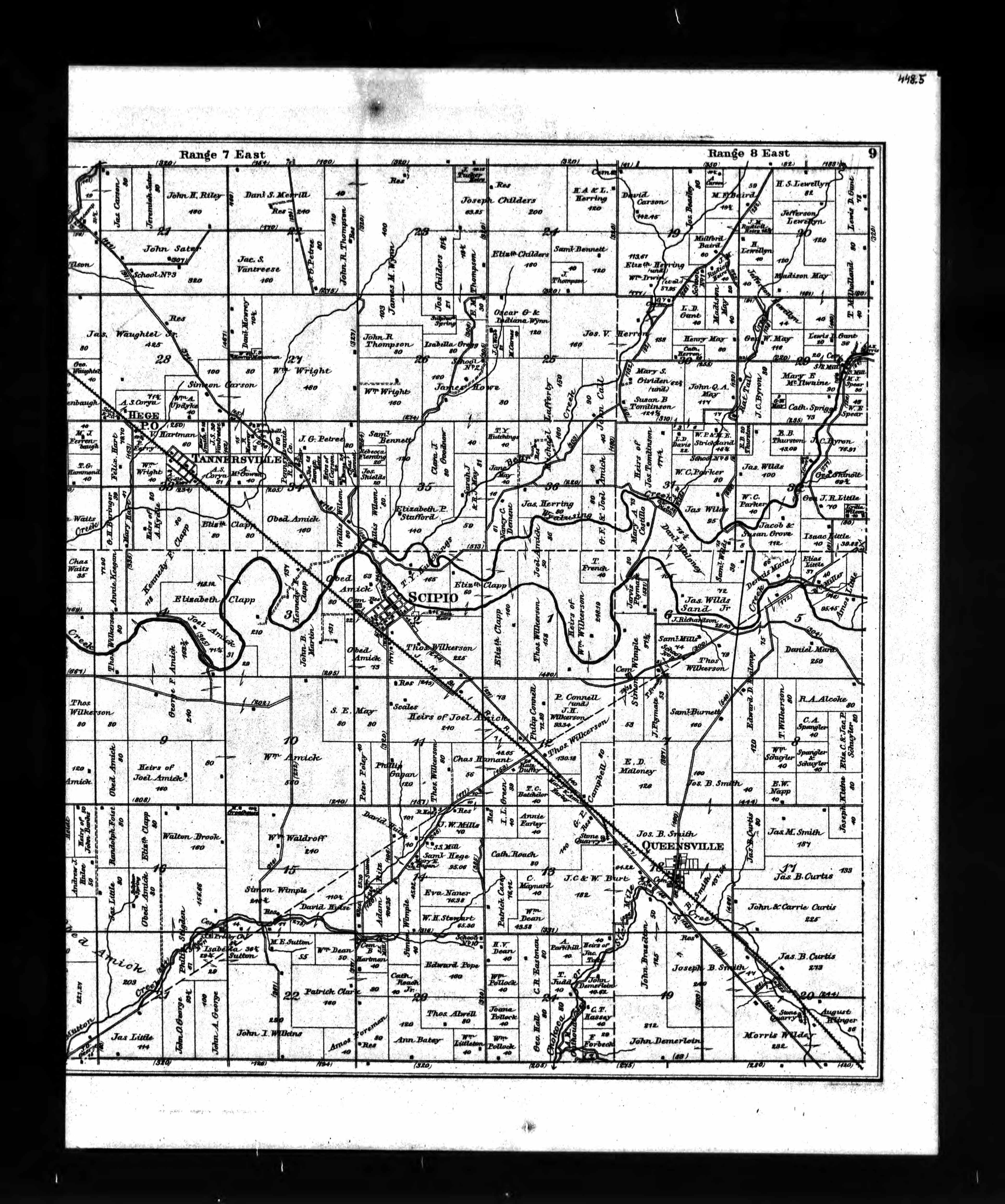 Documents: U.S., Indexed County Land Ownership Maps, 1860-1918 ...